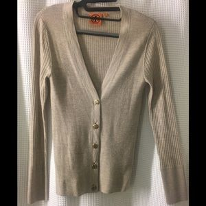 Tory Burch merino wool cardigan size S never worn